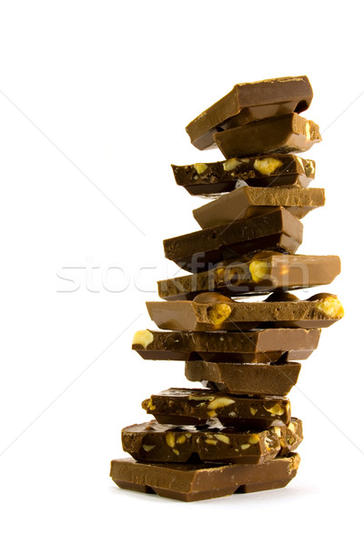chocolate pyramid Stock photo © marylooo