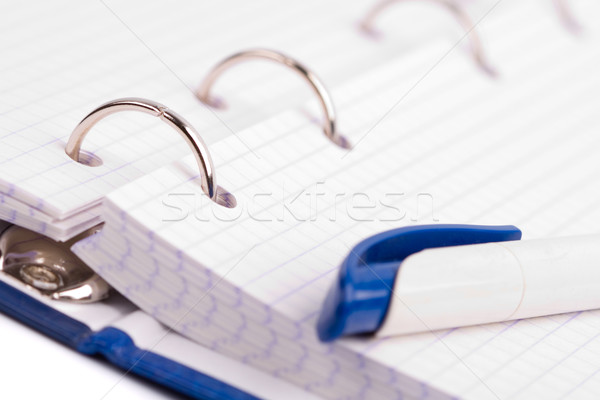 planner with pen Stock photo © marylooo