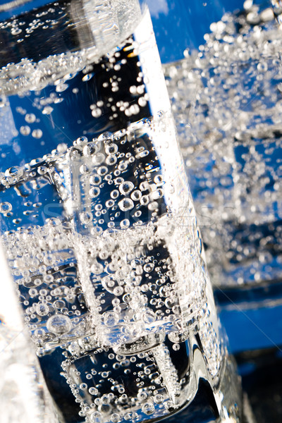 очки холодно воды синий стекла Сток-фото © marylooo