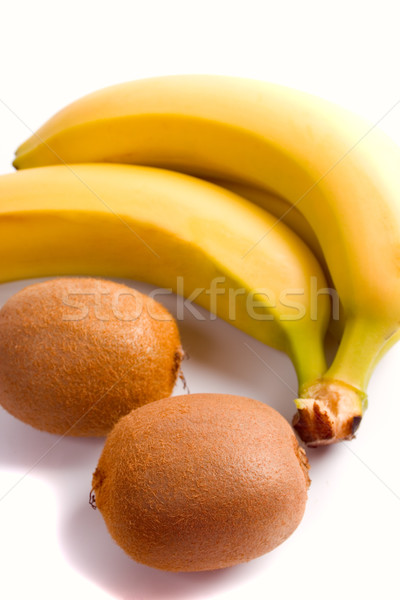 some fresh kiwi and banana Stock photo © marylooo
