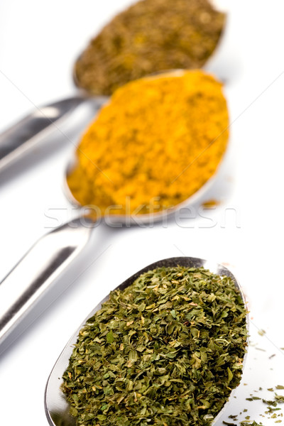 ground spices Stock photo © marylooo