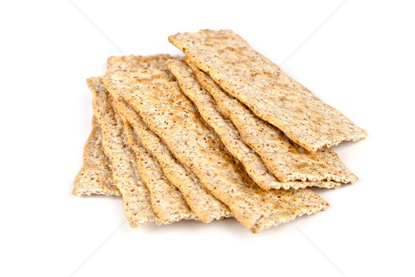 Stock photo: cereal crackers