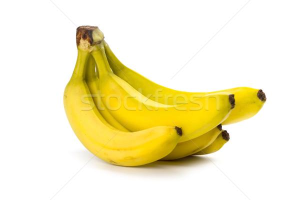 Plátanos aislado blanco frutas fondo Foto stock © marylooo