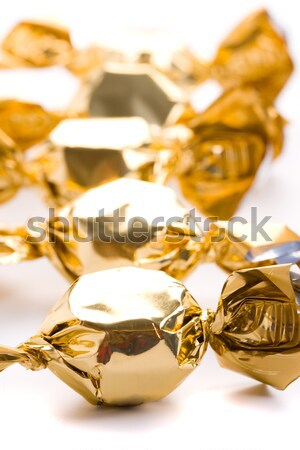 opened foil candy Stock photo © marylooo