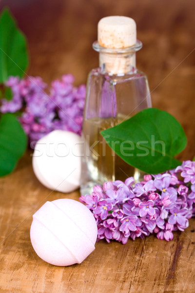 Stock photo: bath and spa