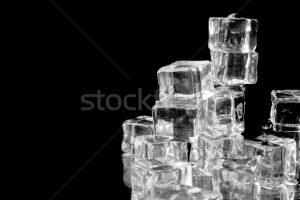 stack of ice cubes  Stock photo © marylooo