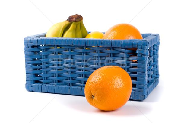 basket with fruits Stock photo © marylooo
