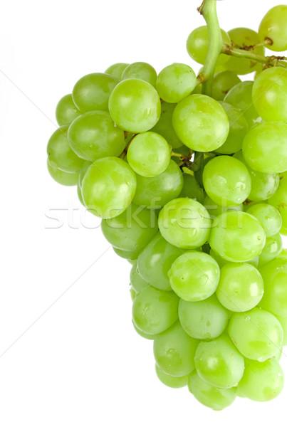green grapes closeup Stock photo © marylooo