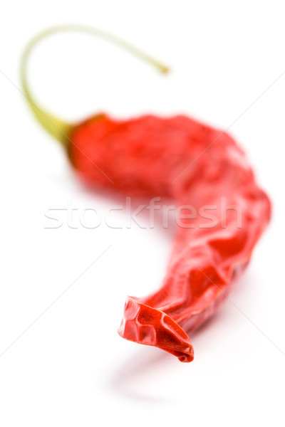 dry red chilly pepper Stock photo © marylooo