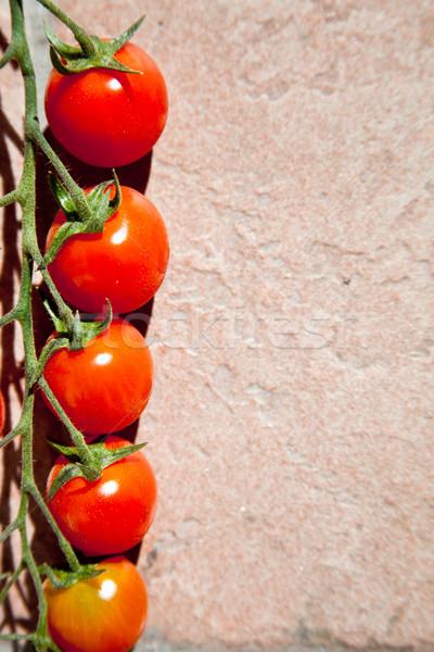 cherry tomatoes Stock photo © marylooo