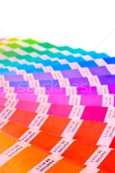 Stock photo: color guide