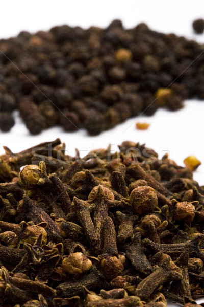 cloves and black pepper Stock photo © marylooo