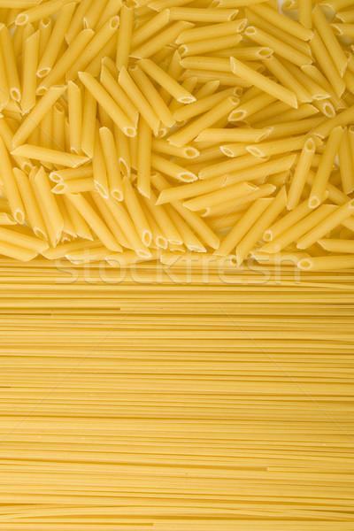 uncooked pasta Stock photo © marylooo