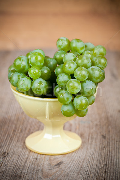 fresh green grapes Stock photo © marylooo