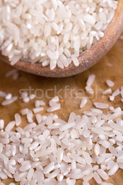 uncooked white rice Stock photo © marylooo