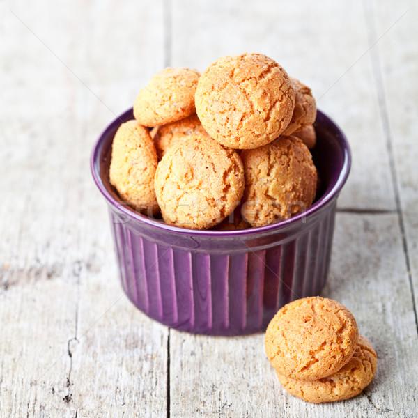 Cookie puchar cukru cookie Zdjęcia stock © marylooo