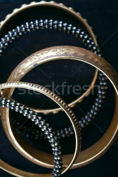 antique bronze bracelets Stock photo © marylooo