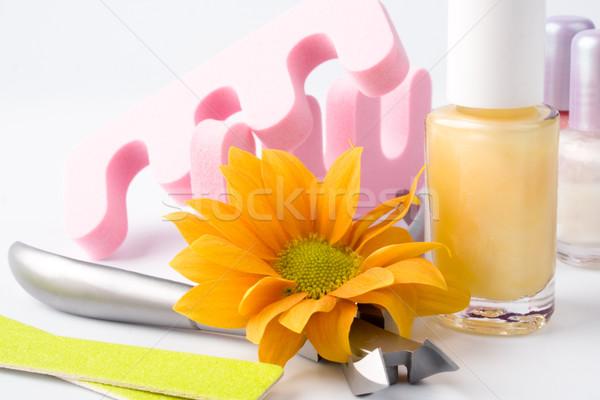 pedicure beauty set  Stock photo © marylooo