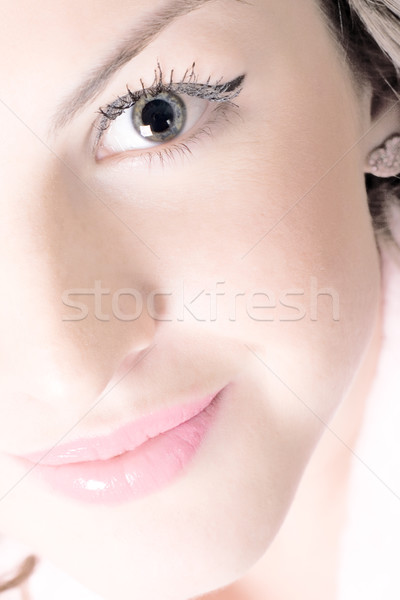 beautiful face Stock photo © marylooo
