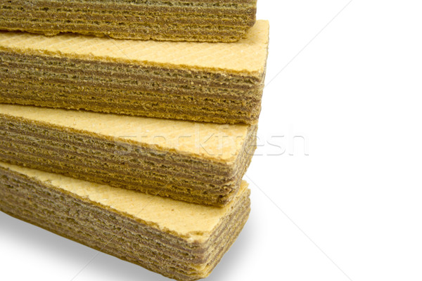 stack of wafers Stock photo © marylooo