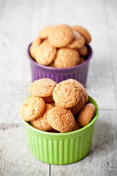Cookie kręgle słodkie cukru Zdjęcia stock © marylooo