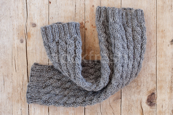 knitted wood legwarmers  Stock photo © marylooo