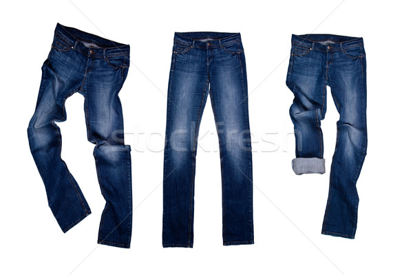 three blue jeans  Stock photo © marylooo