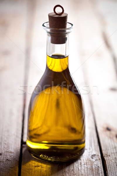 olive oil in bottle Stock photo © marylooo