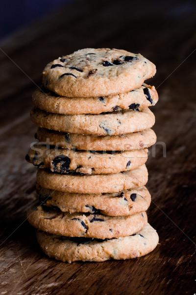stack of fresh baked cookies Stock photo © marylooo