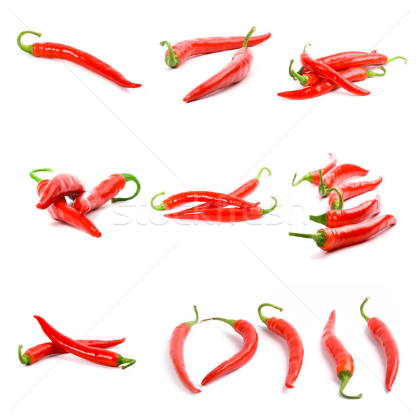 red chili peppers Stock photo © marylooo