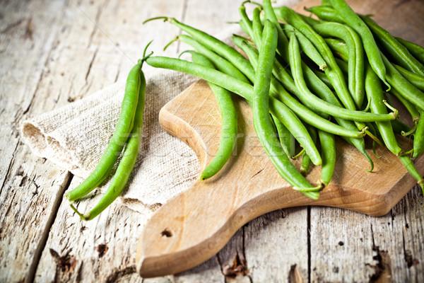 green string beans  Stock photo © marylooo