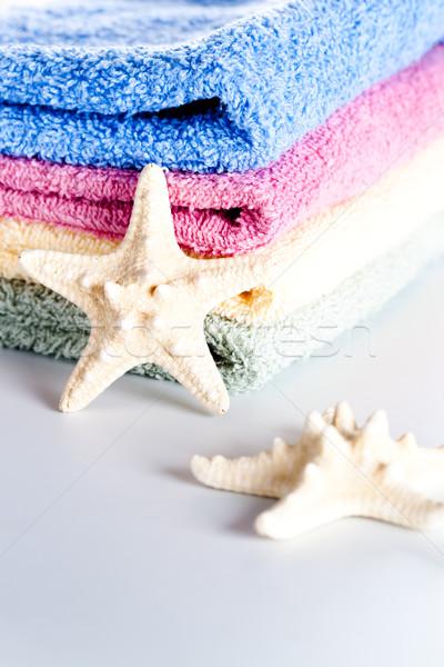towels and sea stars  Stock photo © marylooo