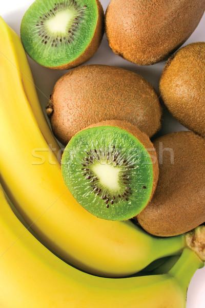 kiwi and banana Stock photo © marylooo