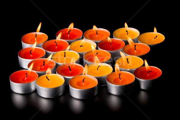 flaming candles Stock photo © marylooo