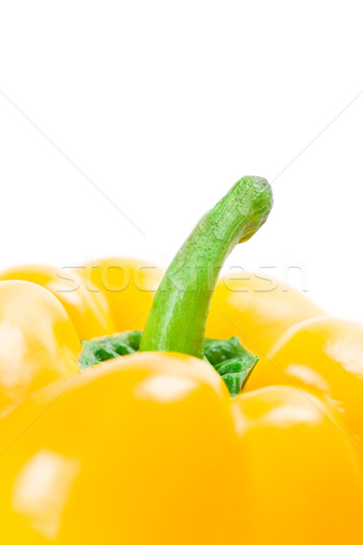 yellow bell pepper  Stock photo © marylooo