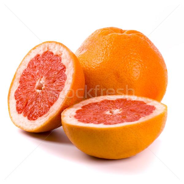 Gyümölcs piros trópusi friss diéta vág Stock fotó © marylooo
