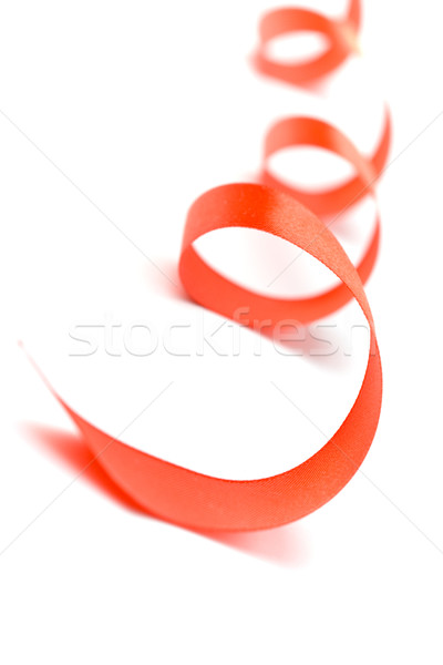 red satin ribbon Stock photo © marylooo