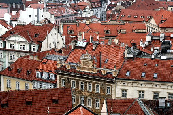 Old tiled roofs Stock photo © marylooo