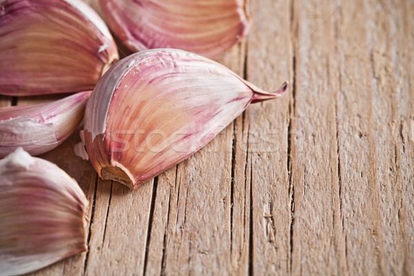 cloves of garlic  Stock photo © marylooo
