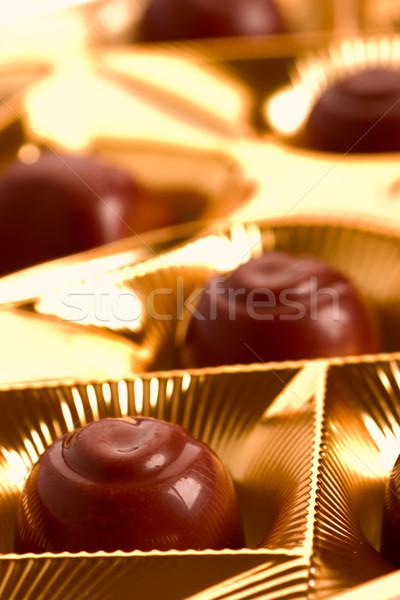 chocolate sweets  Stock photo © marylooo