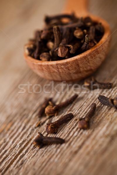 гвоздика деревенский текстуры кухне Сток-фото © marylooo