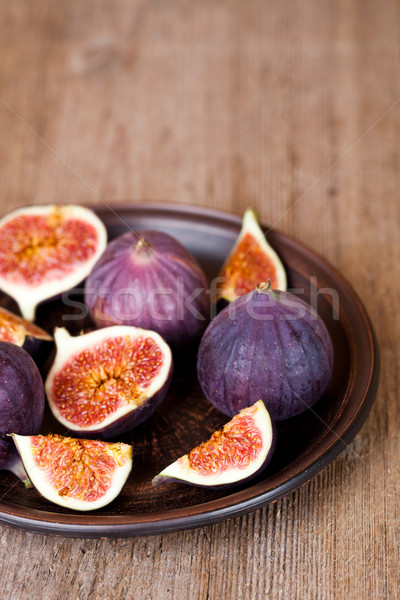 fresh figs in a plate  Stock photo © marylooo