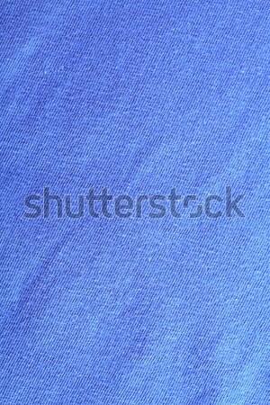 blue textile Stock photo © marylooo