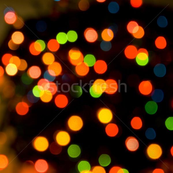 Noël coloré résumé fond vert rouge Photo stock © marylooo
