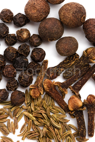 cloves, caraway and black pepper Stock photo © marylooo