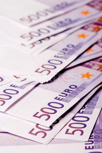 euro banknotes Stock photo © marylooo
