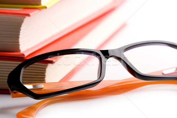 books and glasses Stock photo © marylooo