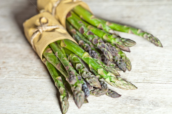 bunches of fresh asparagus Stock photo © marylooo