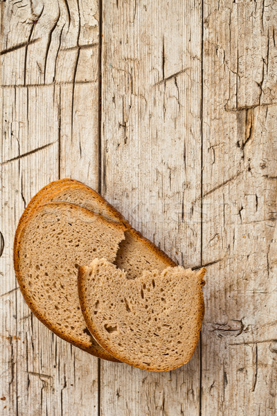 slices of rye bread  Stock photo © marylooo