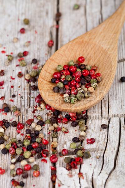 смесь ложку деревенский Сток-фото © marylooo